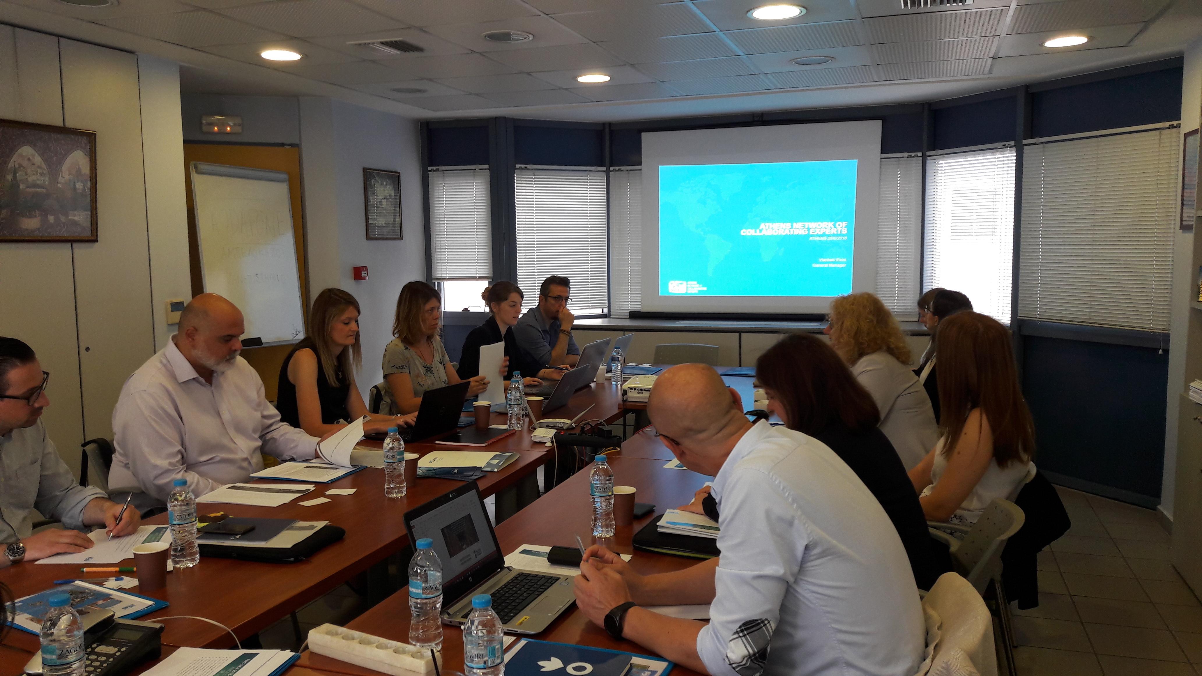 28-06-2018 – Η πρώτη συνάντηση των εταίρων της κοινοπραξίας για το FWC SIEA LOT 4 πραγματοποιήθηκε στην Αθήνα